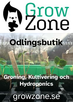 GrowZone Odlingsbutik Groning Kultivering Hydroponics Hydroponik growzone.se